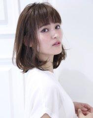 簡単スタイリング☆ミルクティーアッシュハニーヘア