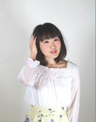 蒲田 いいオンナ度UPの黒髪スウィートミディアムスタイル