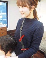 moi女性スタイリスト 林(旧山田) 麻里恵(11年)