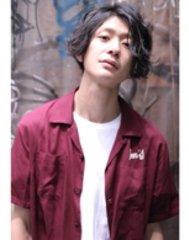 【cielo シエロ】黒髪グランジマッシュ