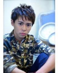 【cielo シエロ】爽やかニュアンスパーマ黒髪ショート