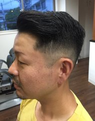 barber7:3フェードスタイル