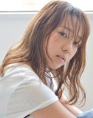 【soy-kufu】シースルーブラウン透けナチュロング