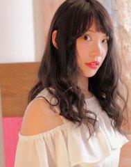 RENATA☆】ブルージュxパーマ×ゆるふわセミロング♪