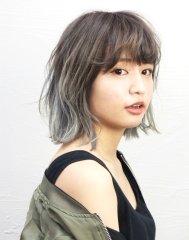透明感ブルーグレージュ【saki】-C