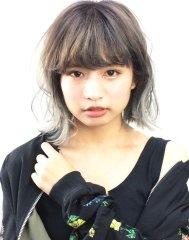 透明感ブルーグレージュ【saki】-B