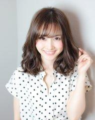 XELHA『東省吾』の大人かわいいミディアムパーマ