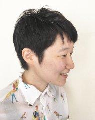 黒髪ショートstyle