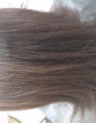 縮毛矯正 カラー