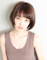 XELHA『東省吾』の大人かわいいマロンショート