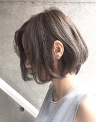 【Cadre】グレージュカラーが人気美容師【藤井りょう】