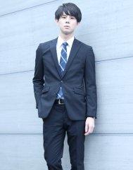 爽やかビジネスマン風ショートマッシュスタイル