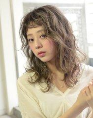 ☆ミルキーベージュのセミディ☆【coii】