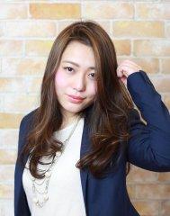 【LUXE for hair】オトナ女子ハンサムロング