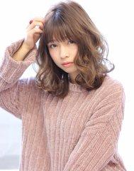【valentine亀井文香】伸ばしかけ美髪ウエーブ!