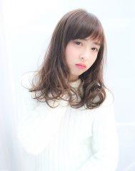 ☆透け感前髪のフェザーカール☆