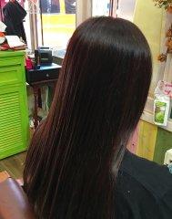 髪質改善美容液カラー!