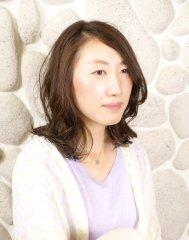 【keyperson nana】無造作ウェーブ大人カジュアル