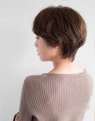 簡単スタイリング☆大人かわいいショートヘア