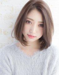 【LAVIERE】ラフな抜け感可愛い☆小顔ミディボブ 西村