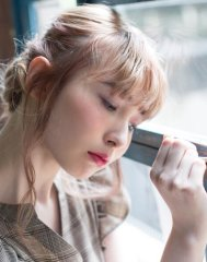 かき上げで甘辛さを☆恋するロングLbaccia 渋谷店