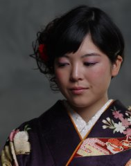 2018 成人式 クラシカルモダンなまとめ髪
