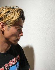 【韓○風 グラデーションカラー 刈り上げ】小牧 Cuthie