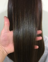 【髪質改善】アイロンを使わない縮毛矯正☆