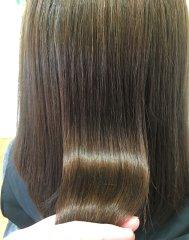 縮毛矯正×髪質改善