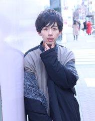 カワイイ系男子☆黒髪ショートマッシュレイヤー♪