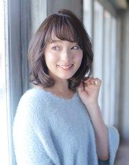 パーマでつくる旬の美人大人ミディ【nananaparena】
