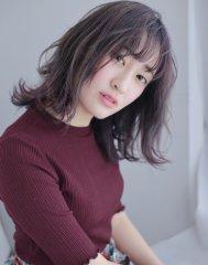 【SOURIRE安東】パープルグレージュ☆ミディアム