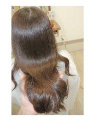 艶髪電子トリートメント+カラー+カット
