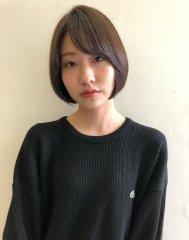【krabat西 鉄平】透け感カラーのミニマムショート