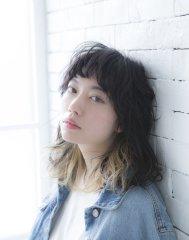 【miel hair】フェミニンすぎないカジュアルウェーブ☆
