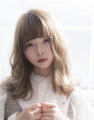 【miel hair 新宿】ミディボブは束感と透明感を狙う☆