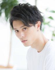 【Agnos櫻木裕紀】黒髪ショート・オシャレツーブロック★