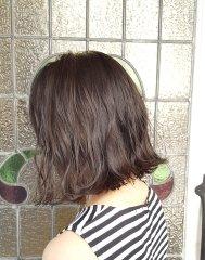 【Rogue HAIR】切りっぱなしボブパーマ