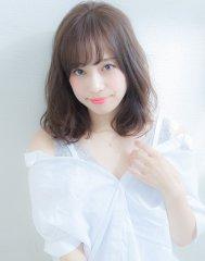 XELHA【谷 賢二】暗髪☆透明感カラーミディアム