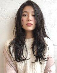 sourireimaizumi山崎詠梨大人かわいい暗髪ロング