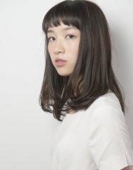黒髪×ノームコア☆ 縮毛矯正、ストレート