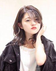 2018年濡れ髪アンニュイウェーブ(カット&カラー&セット)