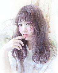 ☆デザインカラーで可愛くラベンダーグレージュ☆