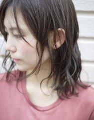 【RYU asia越谷店】ミディアムパーマスタイル