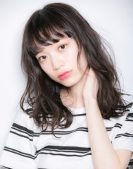 【Euphoria/立花和範】ひし形シルエット&オン眉