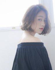 ソワリー栄 ツヤツヤ綺麗な髪に☆大人かわいいボブby橋本圭司