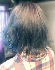 ブルージュ+サファイヤブルーのブルーグラデーションカラー