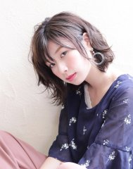 【京都・烏丸】おとな可愛い小顔ゆるふわボブ【ルーリールー】
