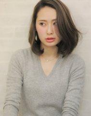 ◇毛先ワンカールでエレガントボブ【nanana parena