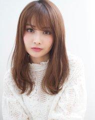 【添田】似合わせカットで小顔な前髪ニュアンスストレート